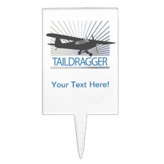 Taildragger Airplane Cake Topper