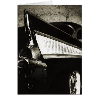 Tailfins - 1957 Chevy Greeting Card