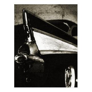 Tailfins - 1957 Chevy Postcard