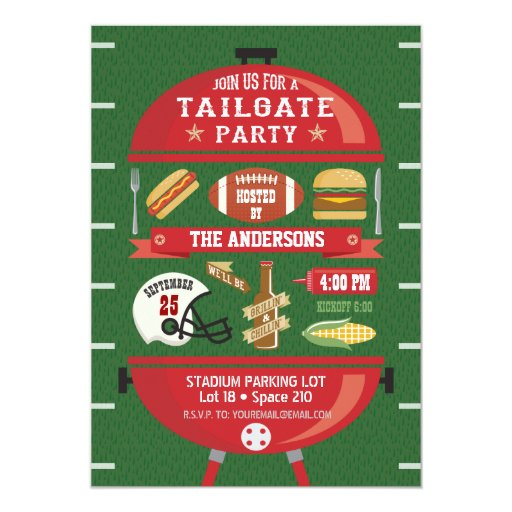 Tailgate Party Invitations as awesome invitations ideas