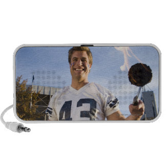 tailgate party before a football game iPod speaker