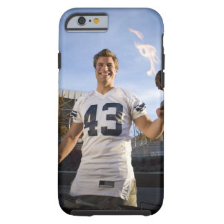tailgate party before a football game tough iPhone 6 case