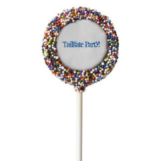 Tailgate Party Cookie Pops