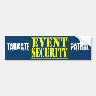 Tailgate Patrol Bumper Sticker