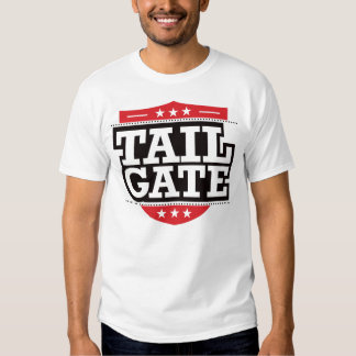 Tailgate Shield - Red Tee Shirt