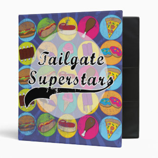 tailgate superstar cook book covers binder recipes