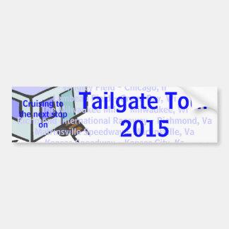 Tailgate Tour 2015 Bumper Sticker