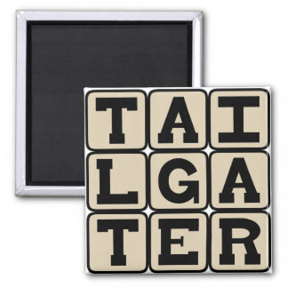 Tailgater Pre-Game Participant Magnets
