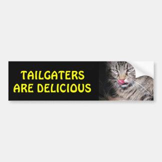 Tailgaters Are Delicious Grumpy Kitty Bumper Sticker