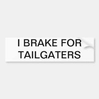 Tailgaters Bumper Sticker