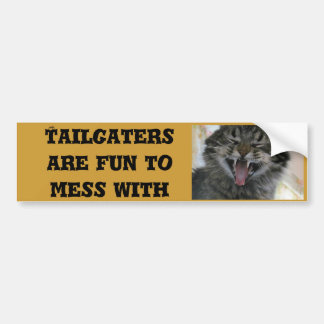 Tailgaters es diversión a ensuciar con pegatina para auto