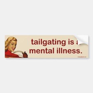 tailgating...
