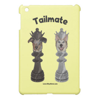Tailmate Chess Queen Dogs iPad Mini Cases
