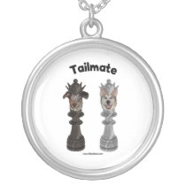 Tailmate Chess Queen Dogs Pendants