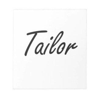 Tailor Artistic Job Design Memo Note Pad