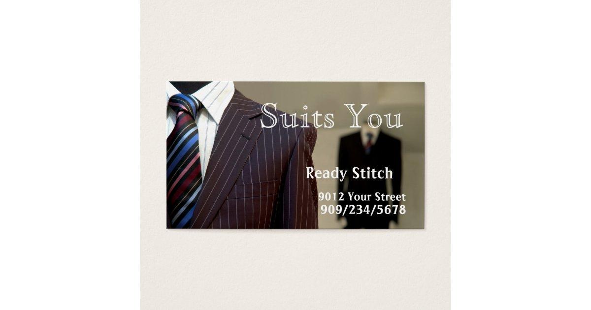 Tailor Business Card | Zazzle.com