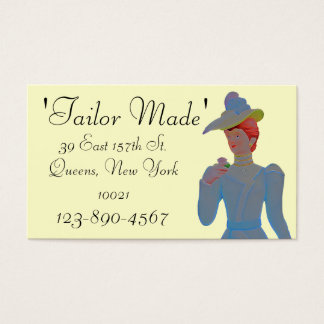 Tailor Business Card Sample1