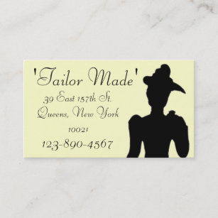 Queens new york business cards templates zazzle tailor business card sample2 reheart Images