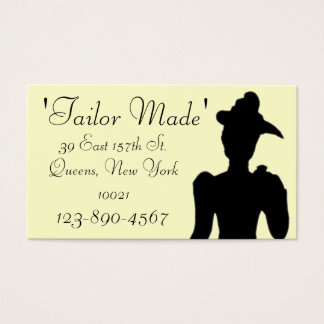Tailor Business Card Sample2