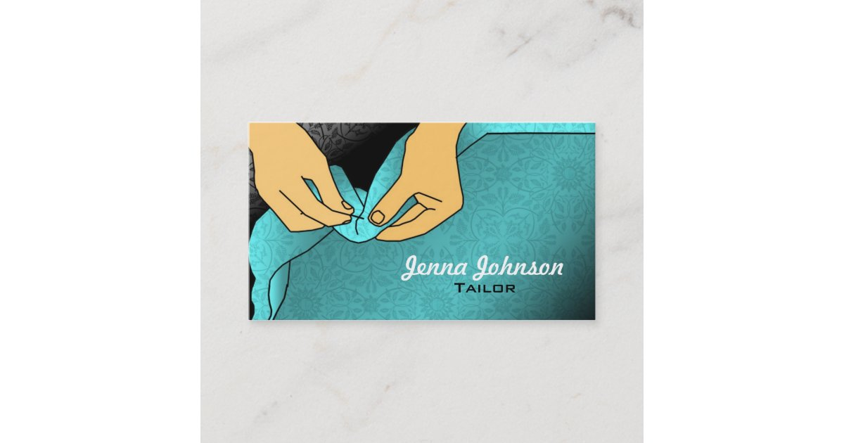 Tailor Business Cards | Zazzle.com
