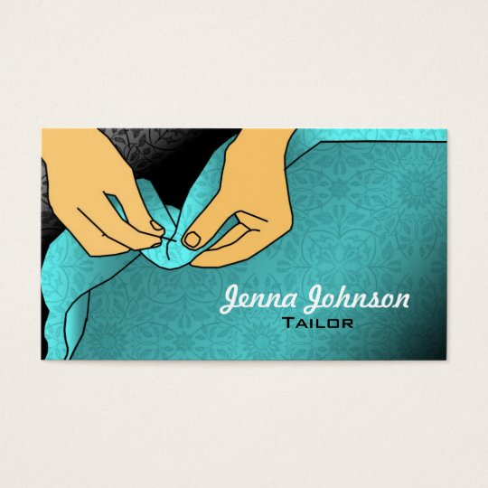 Tailor Business Cards | Zazzle.com