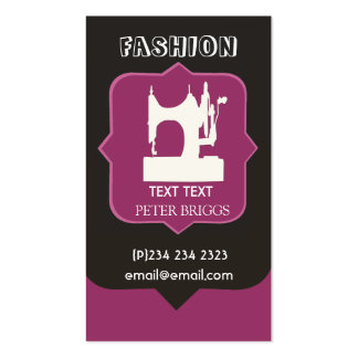 Tailor Clothier Business Card