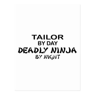 Tailor Deadly Ninja by Night Postcard