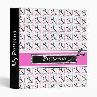 Tailor, Dressmaker's Retro Style Patterns Book Binder