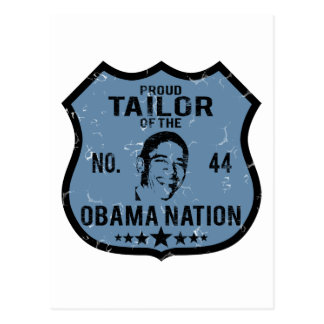 Tailor Obama Nation Postcard