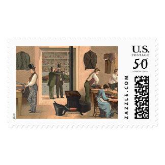 Tailor Shop 1874 Postage