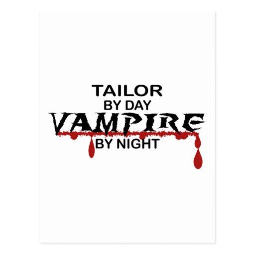 Tailor Vampire by Night Postcards