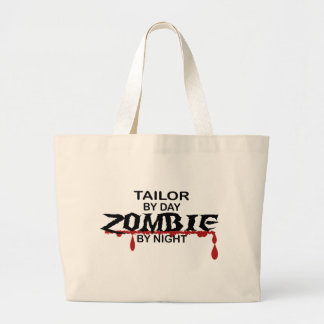 Tailor Zombie Large Tote Bag