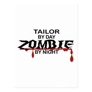 Tailor Zombie Postcard
