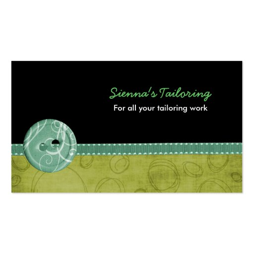 Tailoring Double Sided Standard Business Cards Pack