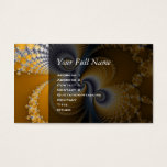 Tailspin - Fractal art Business Card