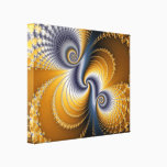 Tailspin - Fractal art Canvas Print