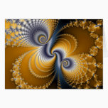Tailspin - Fractal art Card