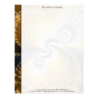 Tailspin - Fractal art Letterhead