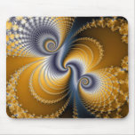 Tailspin - Fractal art Mouse Pad