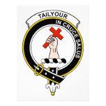 Tailyour Clan Badge Custom Invitations