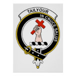 Tailyour Clan Badge Poster