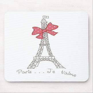 T'aime de París… Je Alfombrilla De Ratón