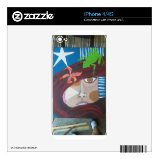 taina spirit decals for iPhone 4