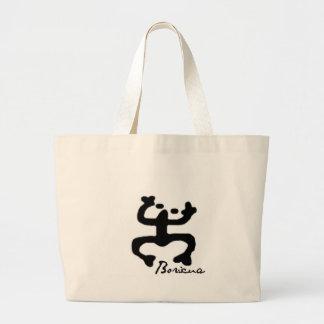 Taino Coqui Jumbo Tote Bag