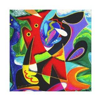 Taino Dance, Puerto Rico Art