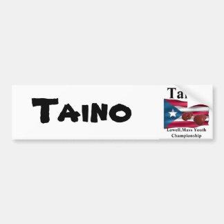 Taino, Gold Squad Boxing Car Bumper Sticker