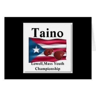 Taino, Gold Squad Boxing Card