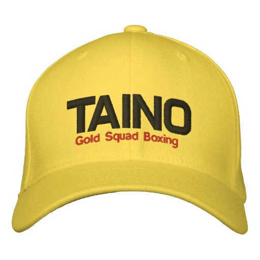 Taino, Gold Squad Boxing Embroidered Baseball Cap