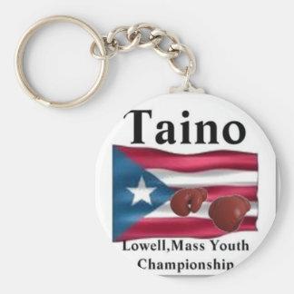 Taino, Gold Squad Boxing Keychain