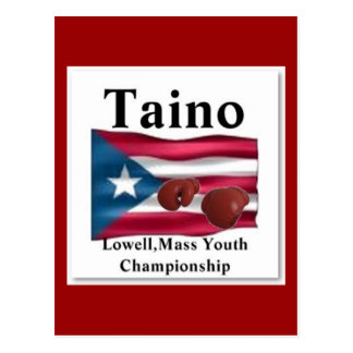 Taino, Gold Squad Boxing Post Card